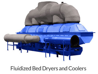 Fluidized Bed Dryers and Coolers