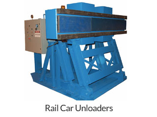 Rail Car Unloaders