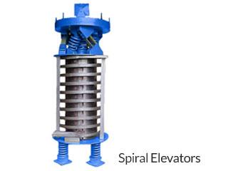 Vibrating Spiral Elevators